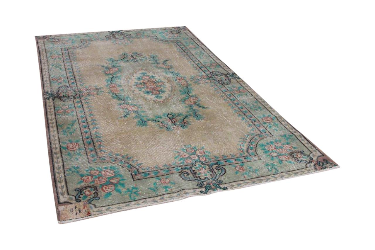 Vintage vloerkleed Isparta 15826 266cm x 164cm