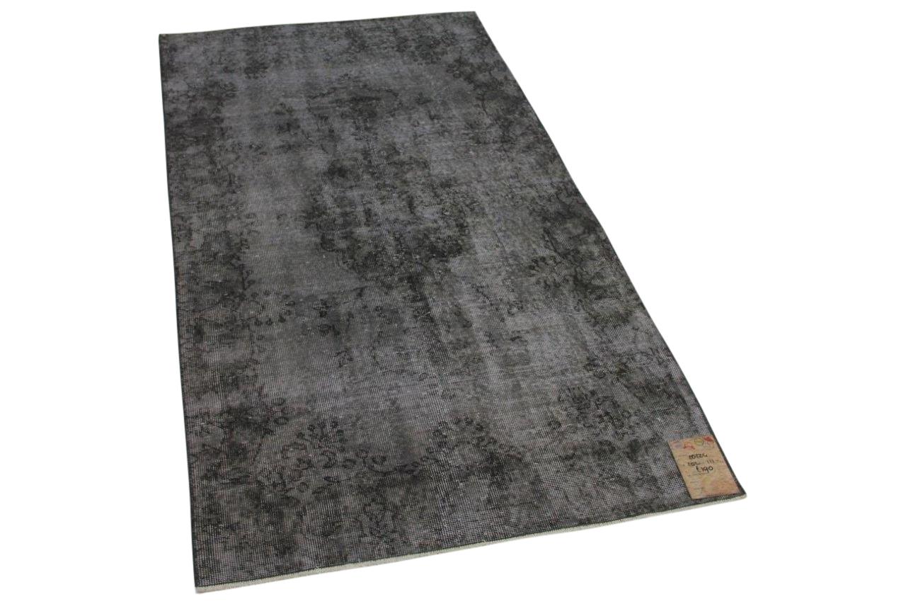Vintage vloerkleed grijs 20224 202cm x 111cm