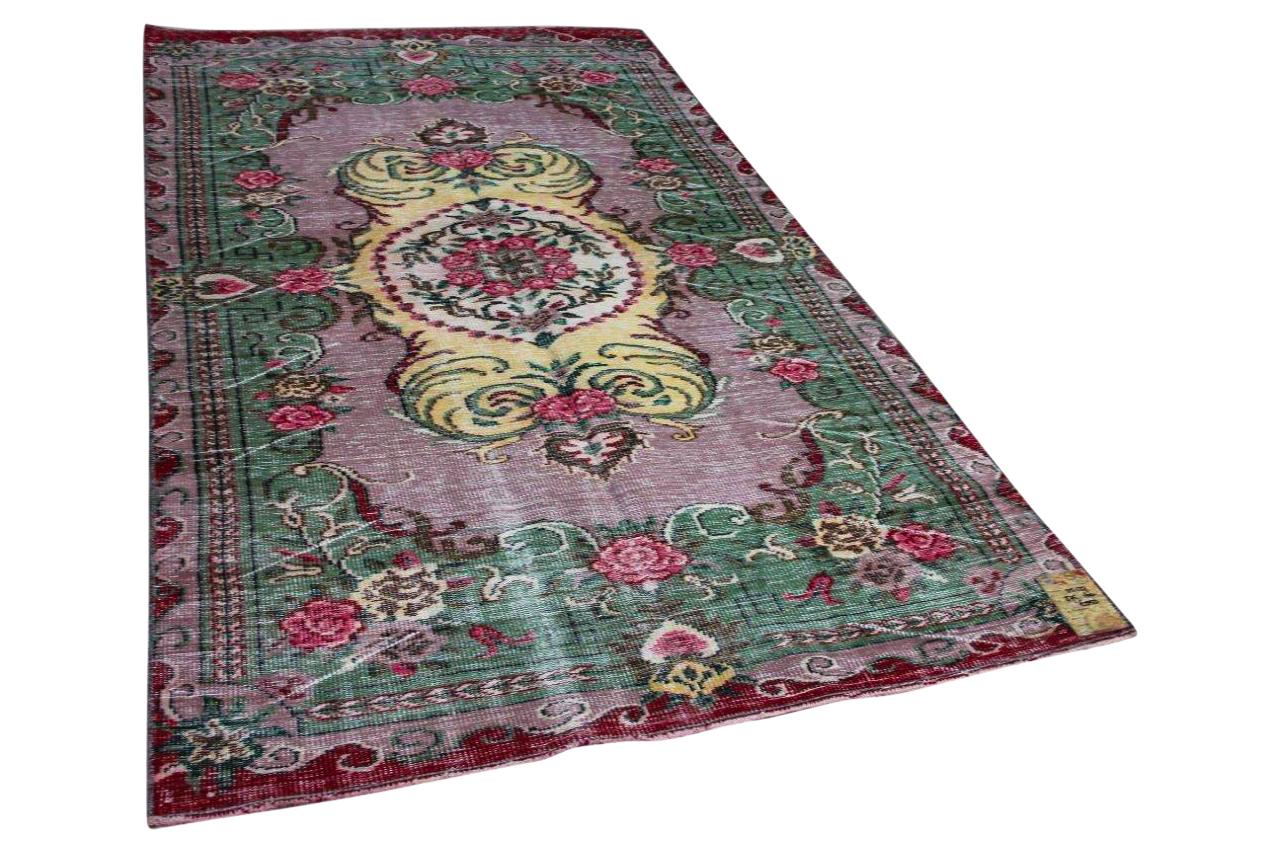 Vintage vloerkleed diverse kleuren 215127 275cm x 160cm