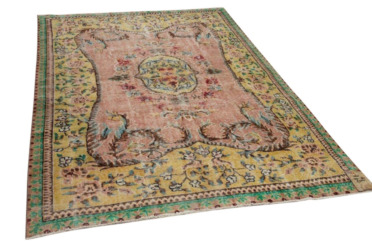 Vintage vloerkleed diverse kleuren 23601 250cm x 180cm