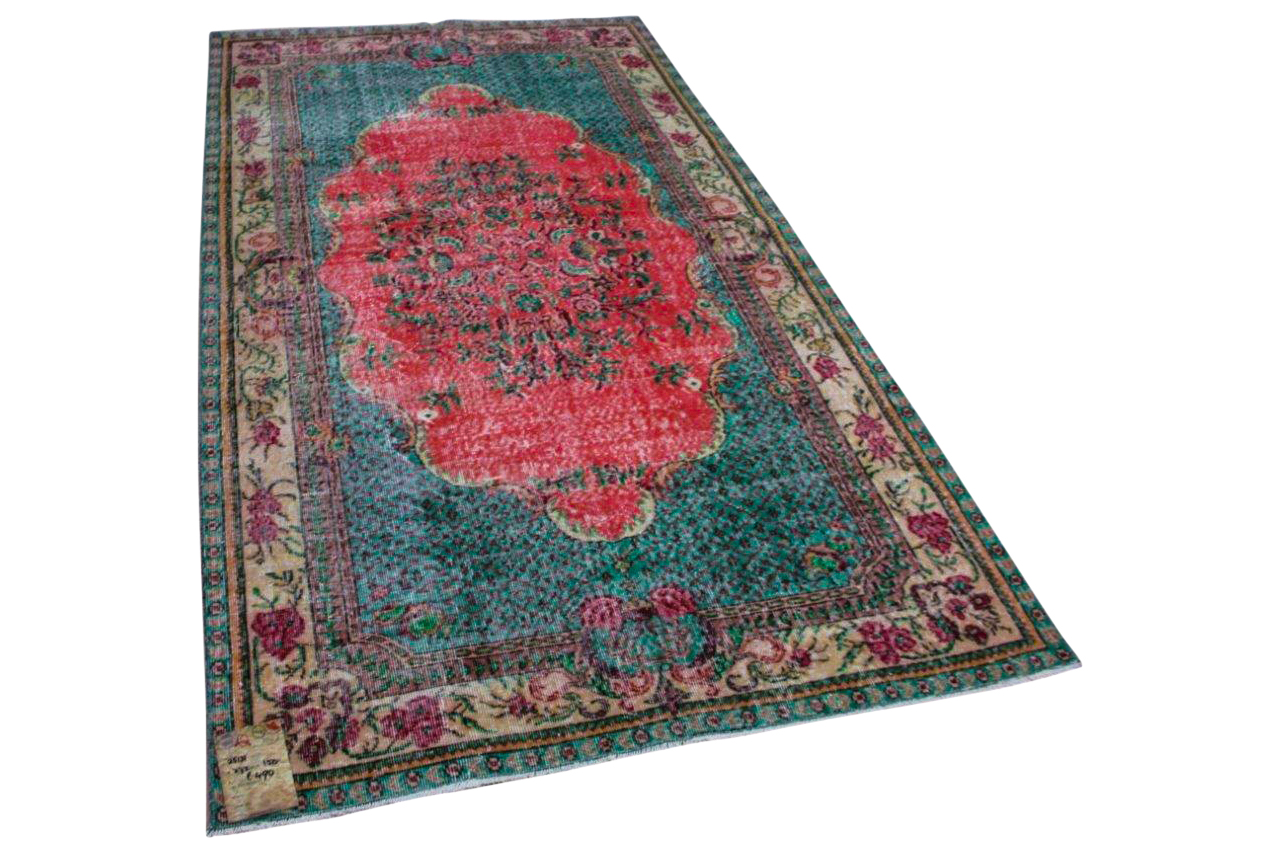 Vintage vloerkleed diverse kleuren 25131 272cm x 150cm