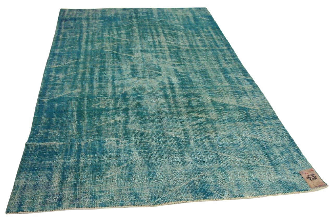 Blauw vintage vloerkleed 274cm x 177cm nr31558