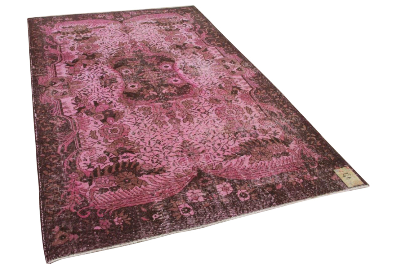 roze vloerkleed 32523 280cm x 173cm