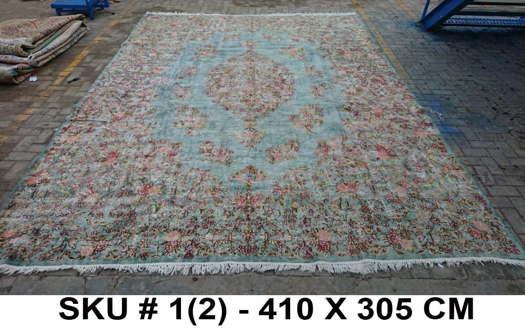 Vintage vloerkleed nr.40012 410cm x 305cm