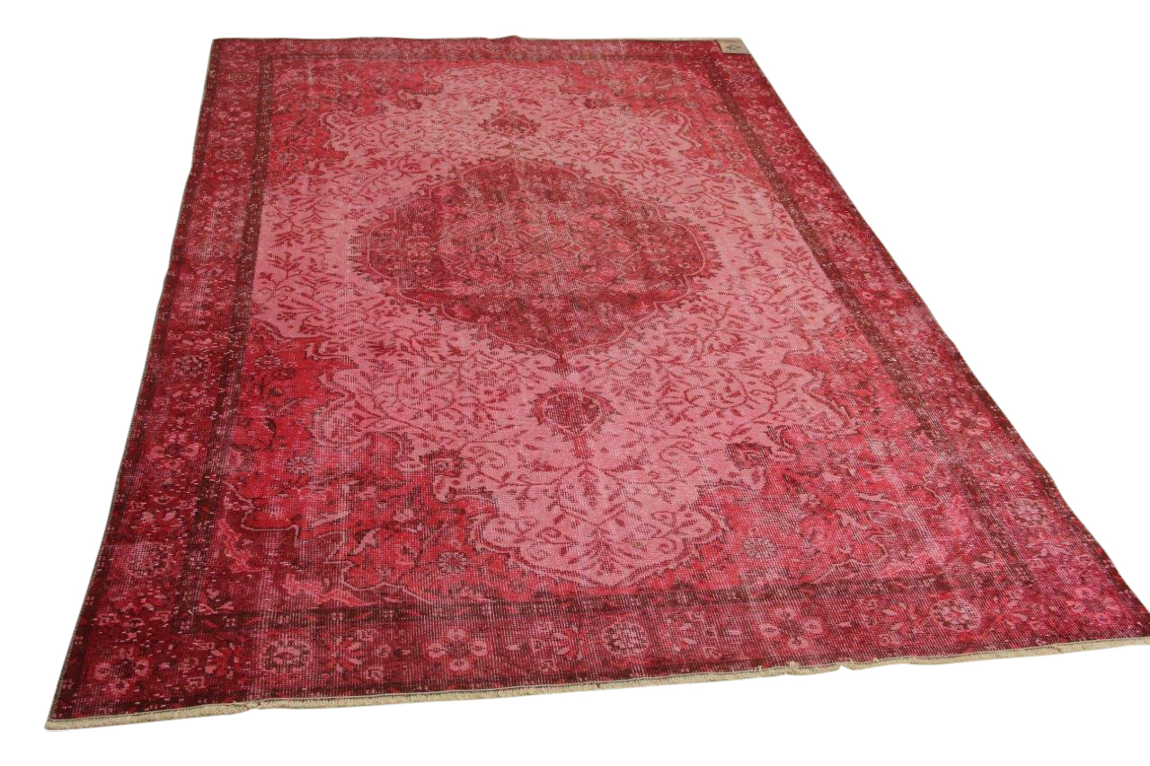 Roze vloerkleed 290cm x 188cm nr4600