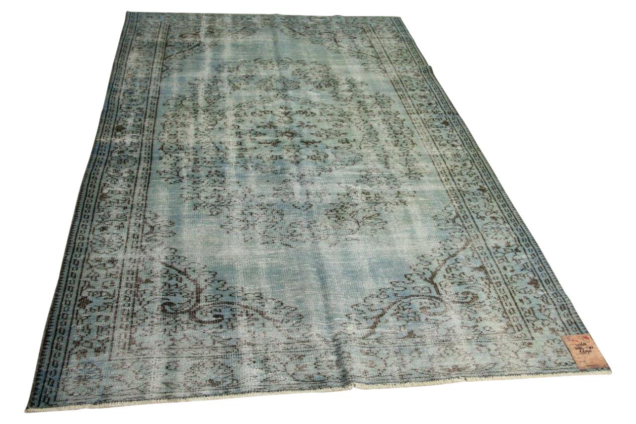 Blauw vloerkleed 308cm x 170cm nr4968