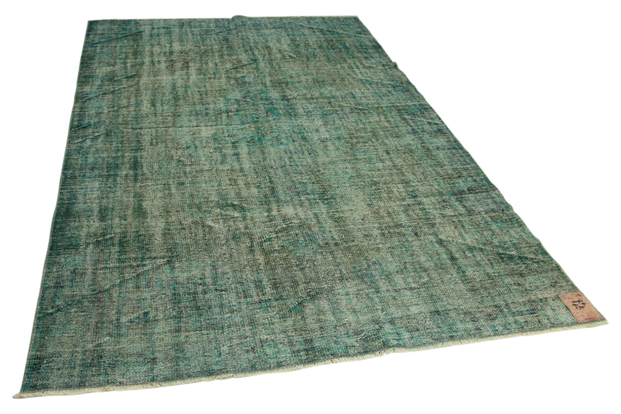Zeegroen vloerkleed 304cm x 193cm nr50963
