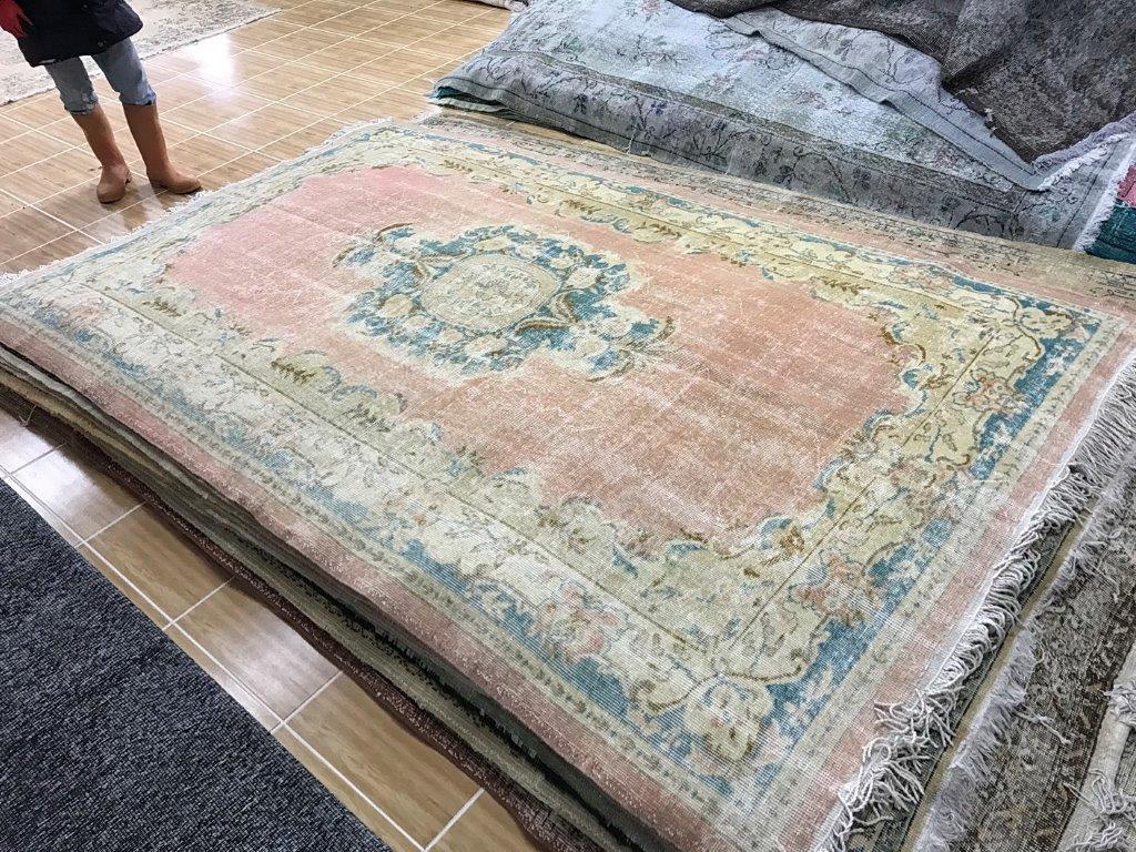 Vintage vloerkleed 274cm x 175cm nr5346