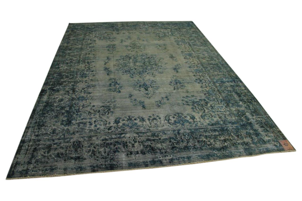 Blauw vloerkleed 368cm x 255cm nr56313