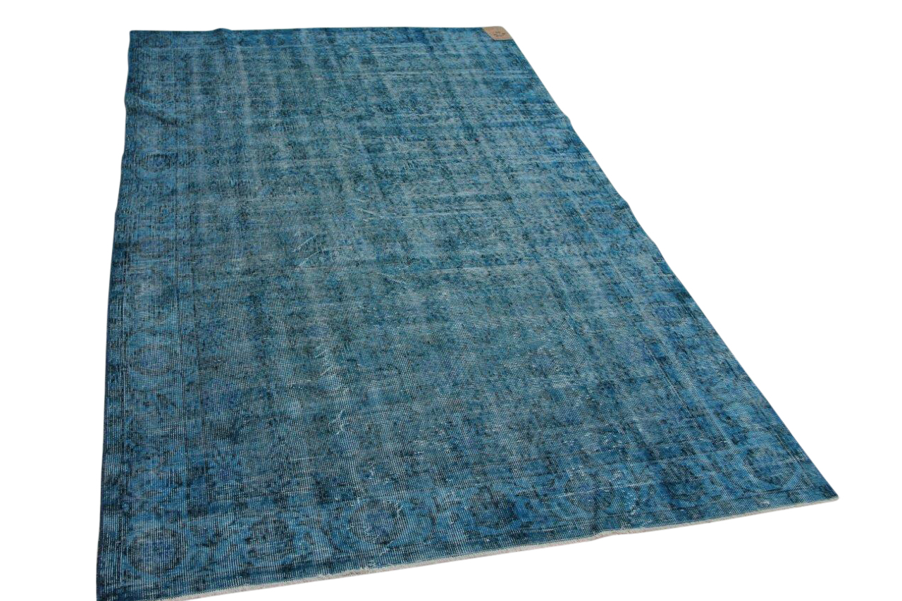 Vloerkleed blauw