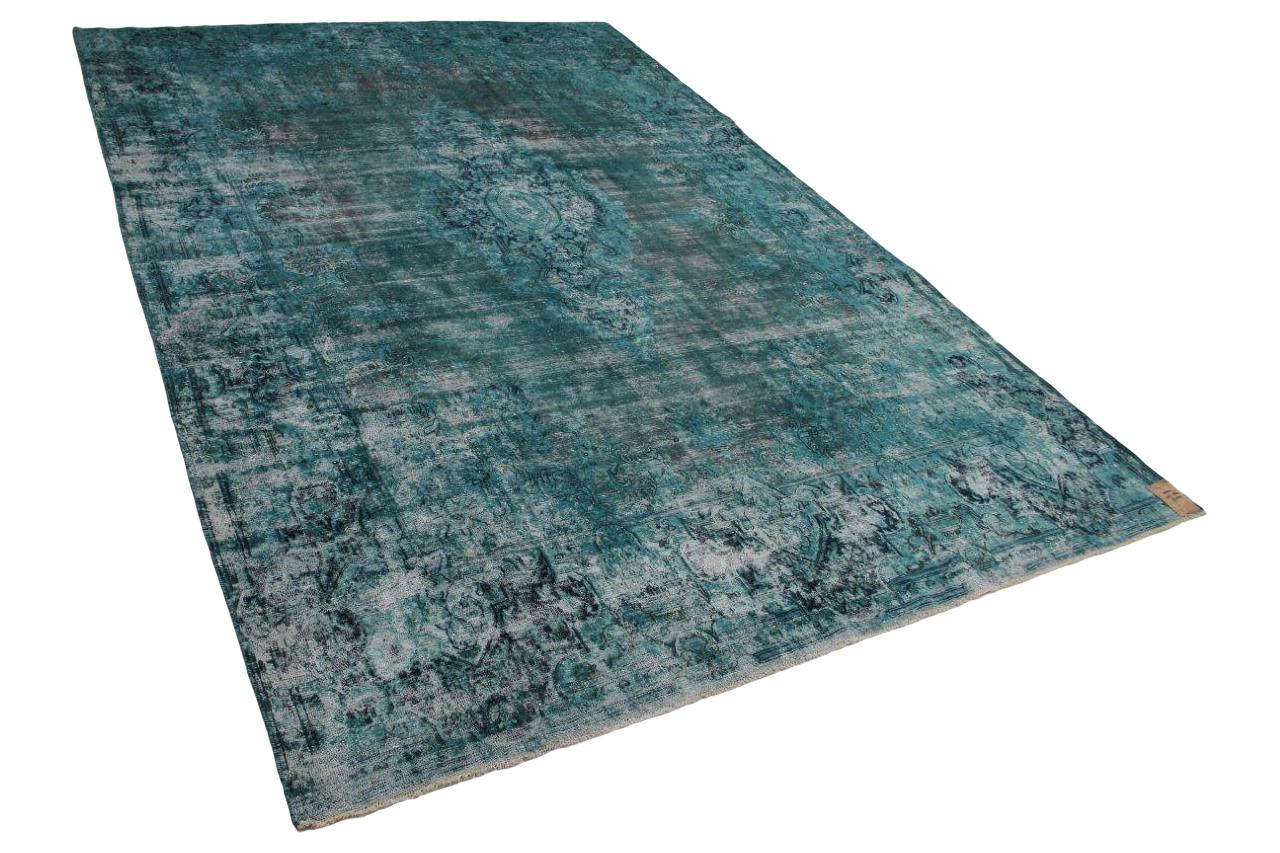 Zeegroen en blauw vloerkleed 58341