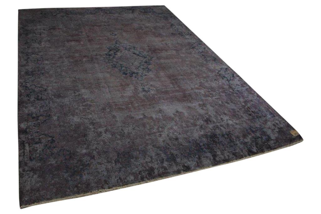 Vintage vloerkleed bruin 58422 387cm x 297cm