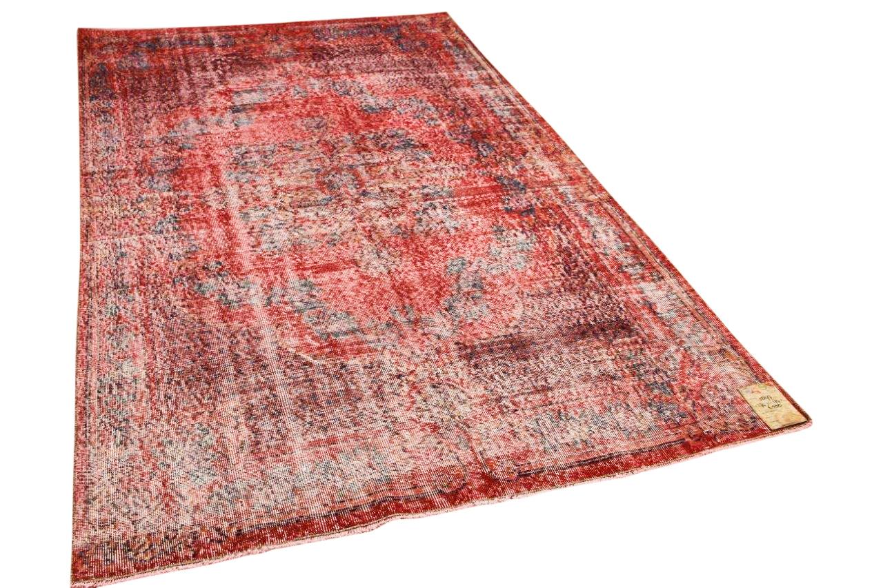 Vintage vloerkleed rood 5897 274cm x 174cm