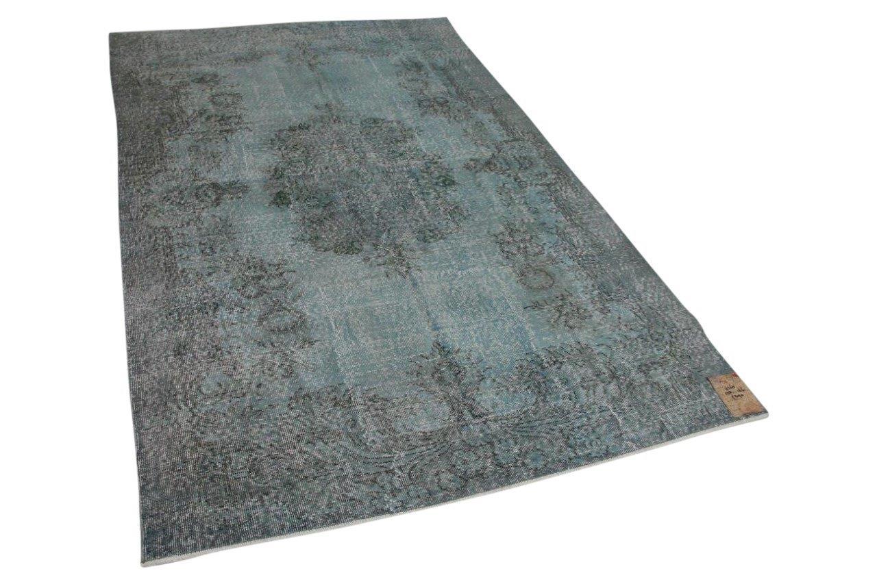 Blauw vloerkleed 258cm x 166cm 6365