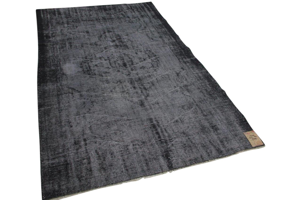 Vintage vloerkleed grijs 7149 262cm x 165cm