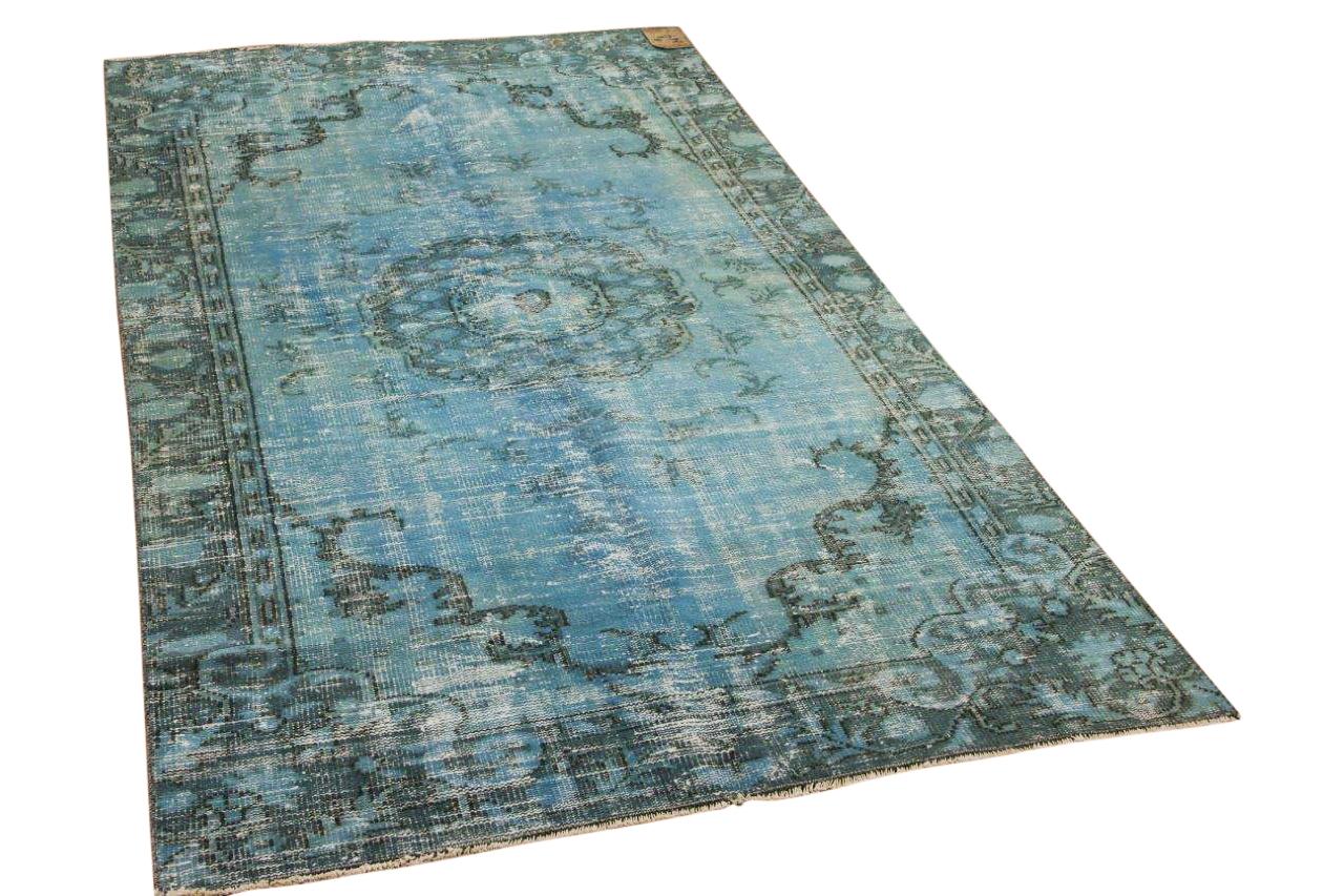 vintage vloerkleed grijs 6738 240cm x 185cm