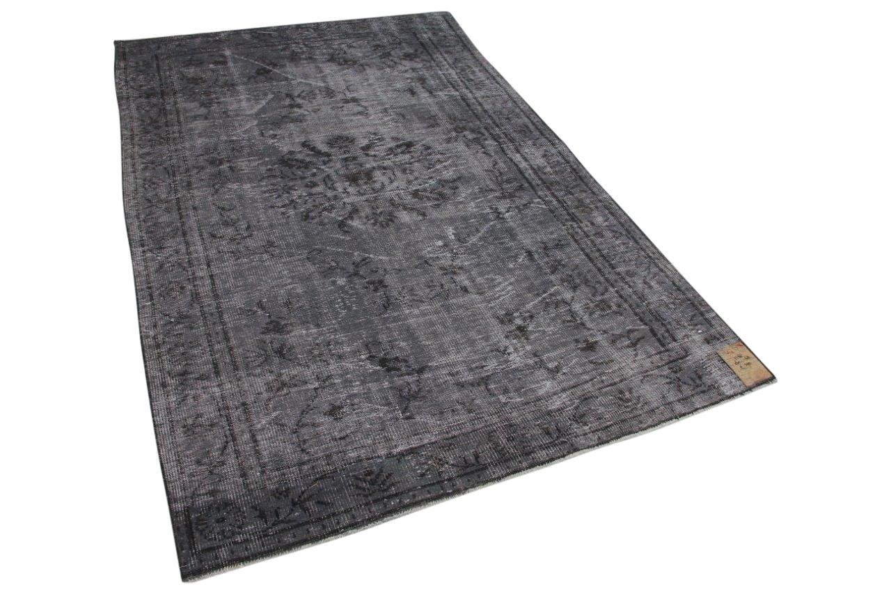 Vintage vloerkleed grijs 7282 265cm x 168cm