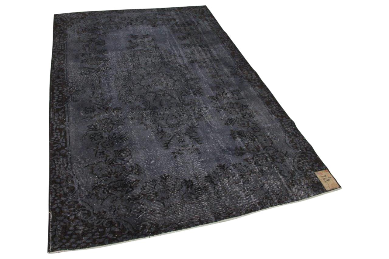 Vintage vloerkleed grijs 7458 265cm x 173cm