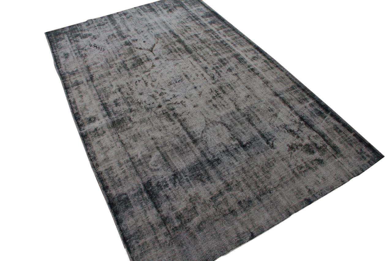 Geschoren vintage vloerkleed nr 1672 (301cm x 190cm)