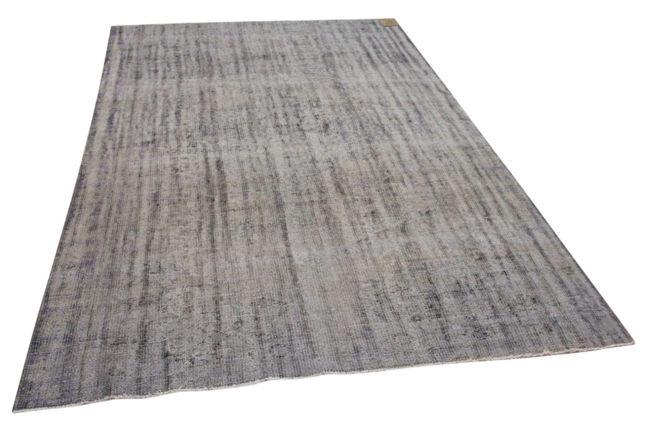 vintage vloerkleed grijs 23708