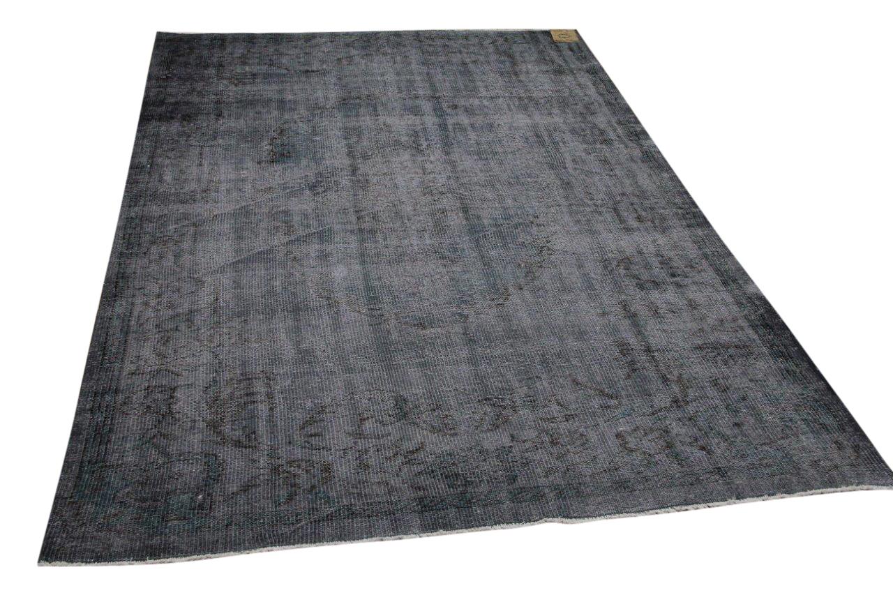 Vintage vloerkleed grijs 34607 271cm x 170cm