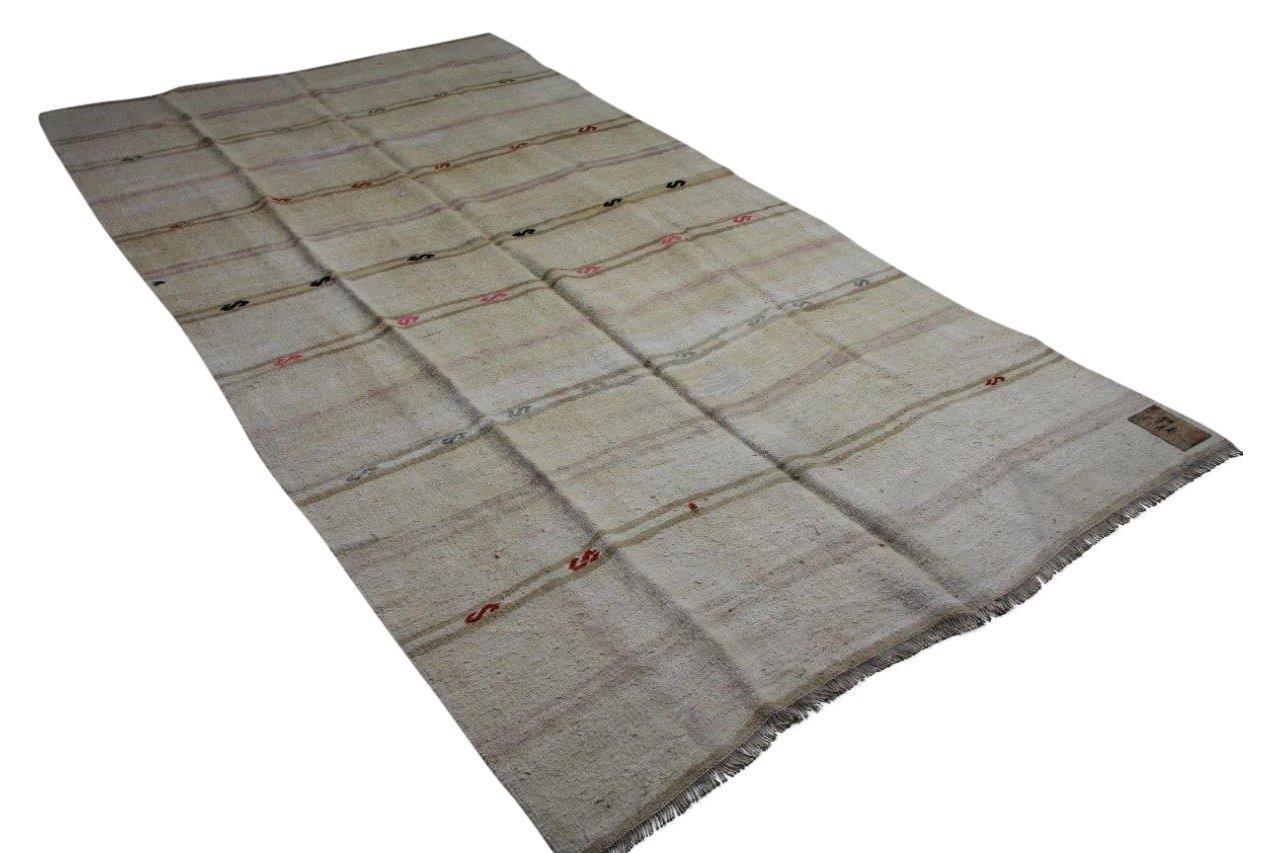 oud zijde vloerkleed uit Turkije 26938 185cm x 126cm