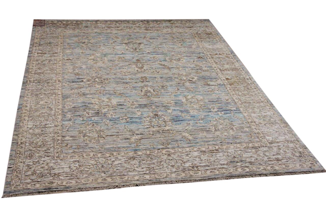 Handgemaakt vloerkleed uit Afghanistan 14056 239cm x 178cm