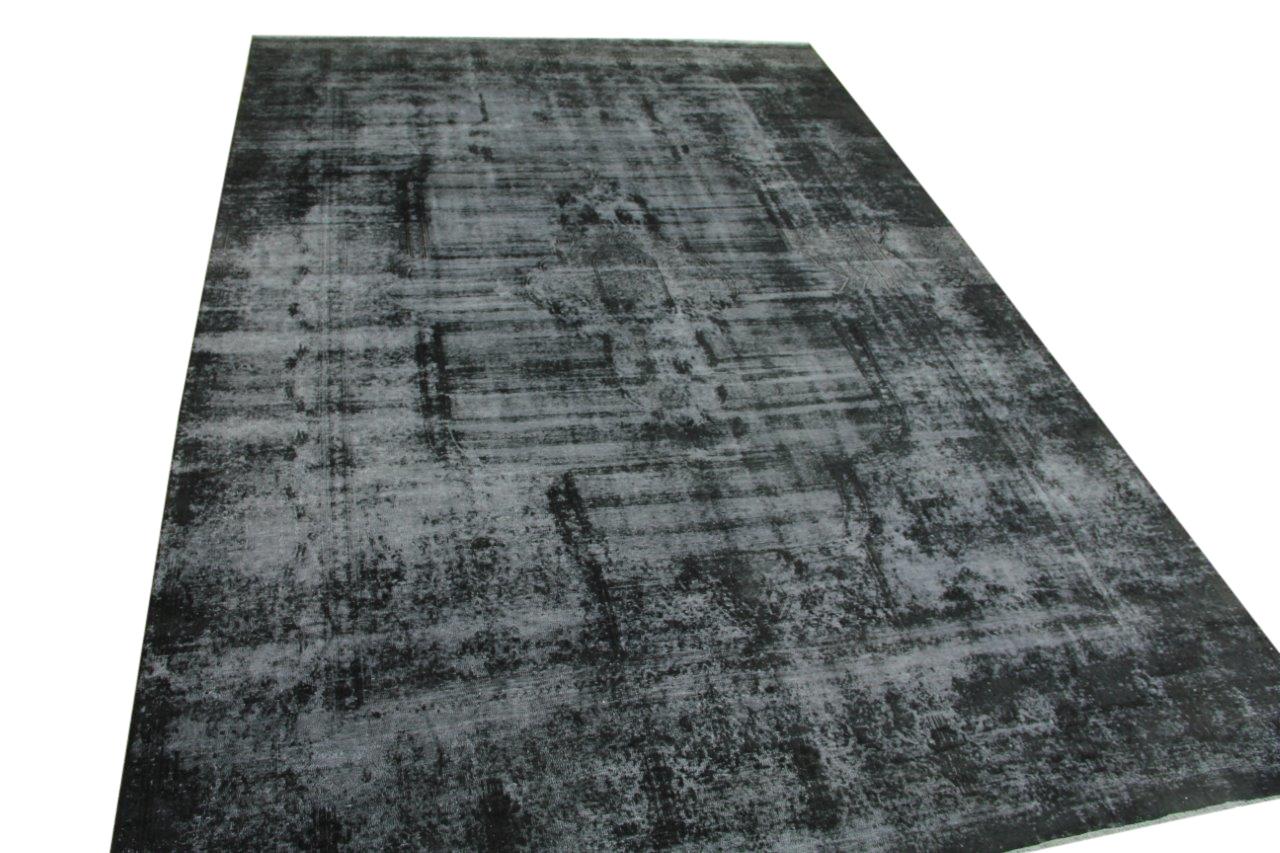 Antraciet vintage vloerkleed 500cm x 333cm nr55702