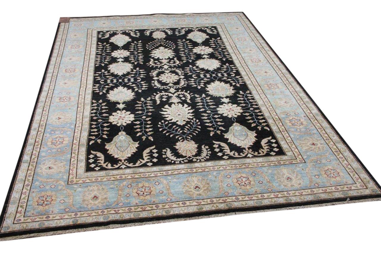 Handgemaakt ziegler vloerkleed uit Afghanistan 13492 294cm x 203cm