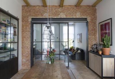 Interieur trend:  Stalen deuren met glas