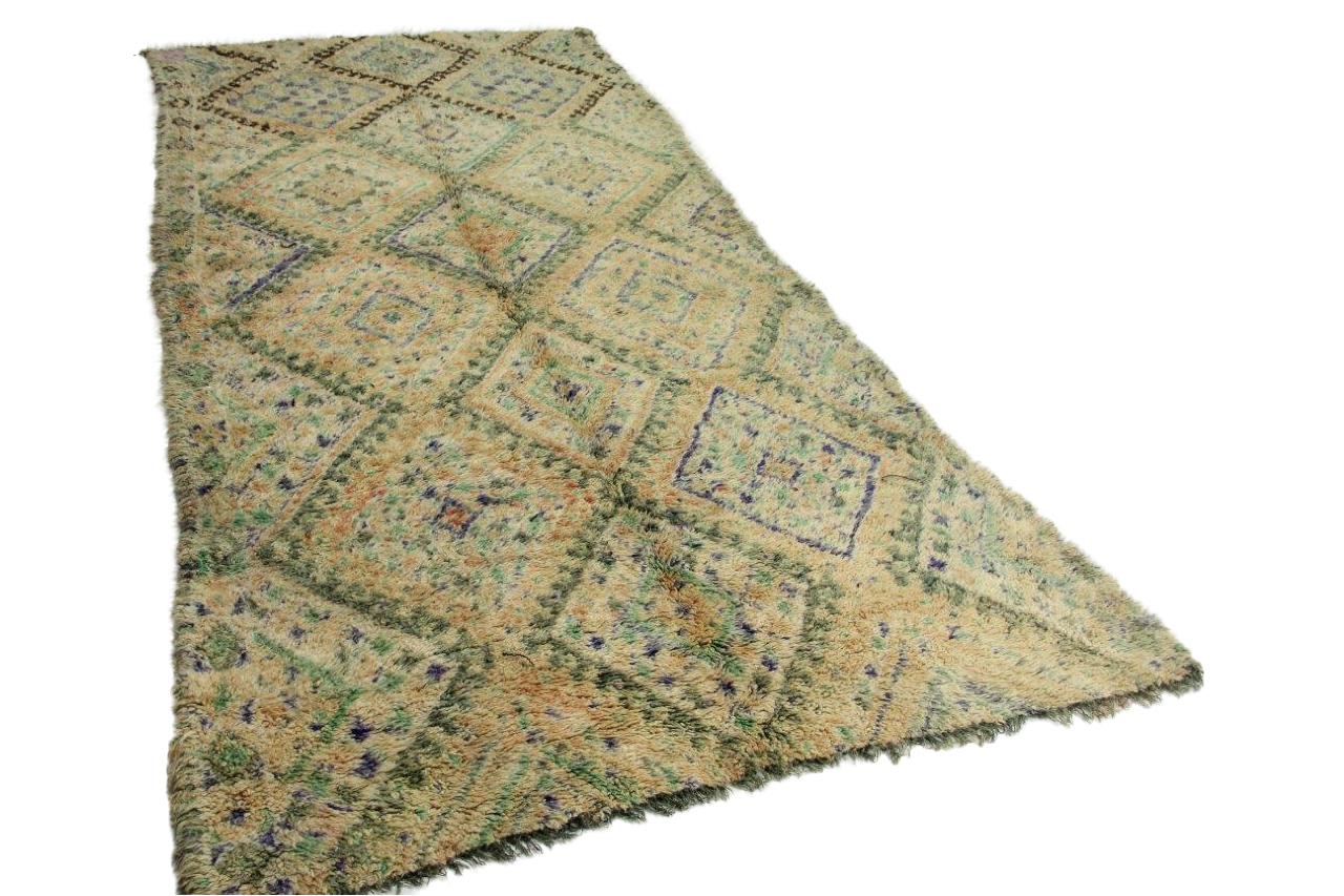 Afbeelding van Beni Mguild 400cm x 200cm hoogpolig vloerkleed