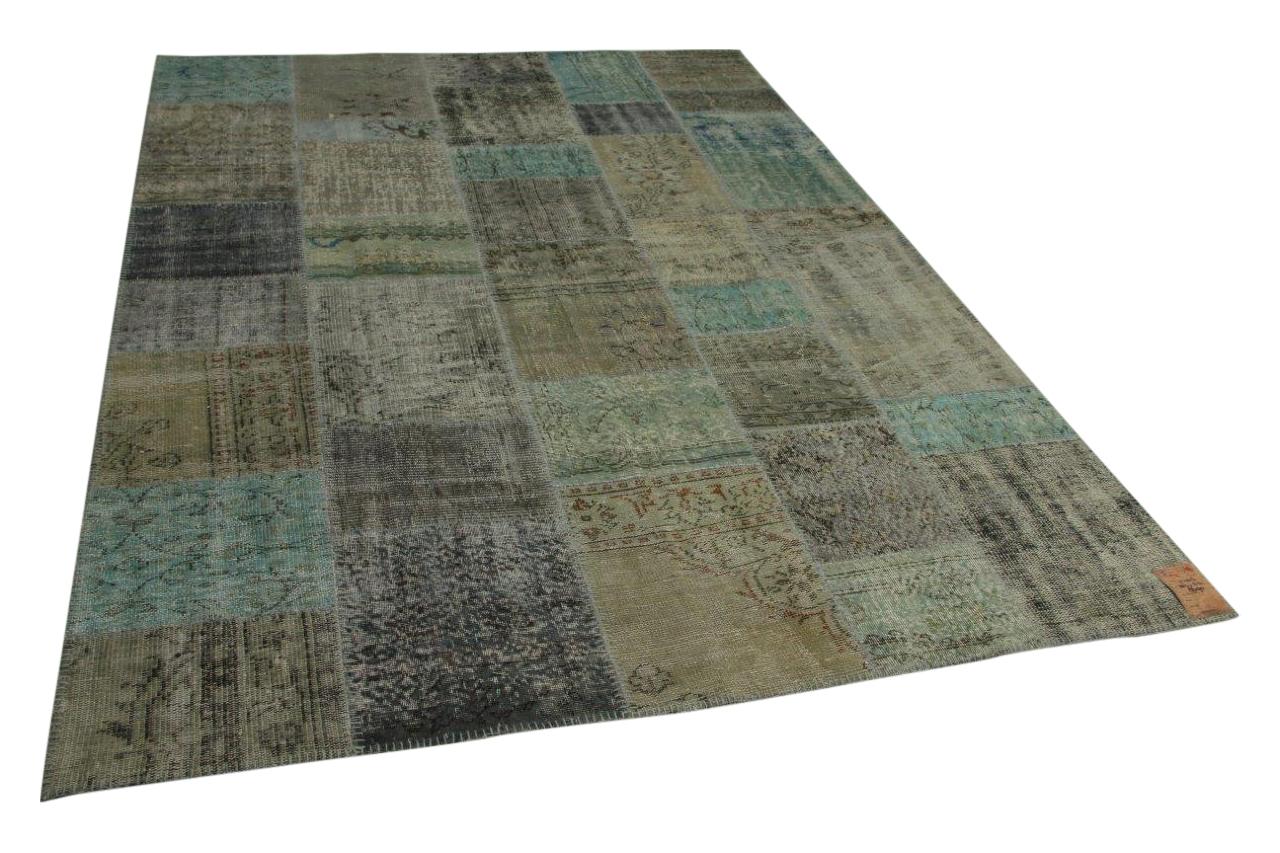 patchwork vloerkleed 301cm x 212cm