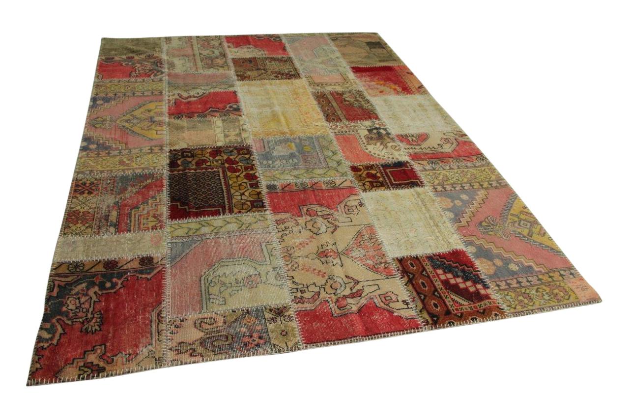 patchwork vloerkleed 300cm x 210cm