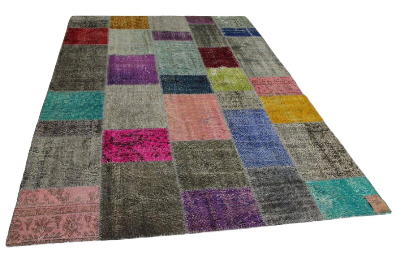 patchwork vloerkleed 310cm x 212cm