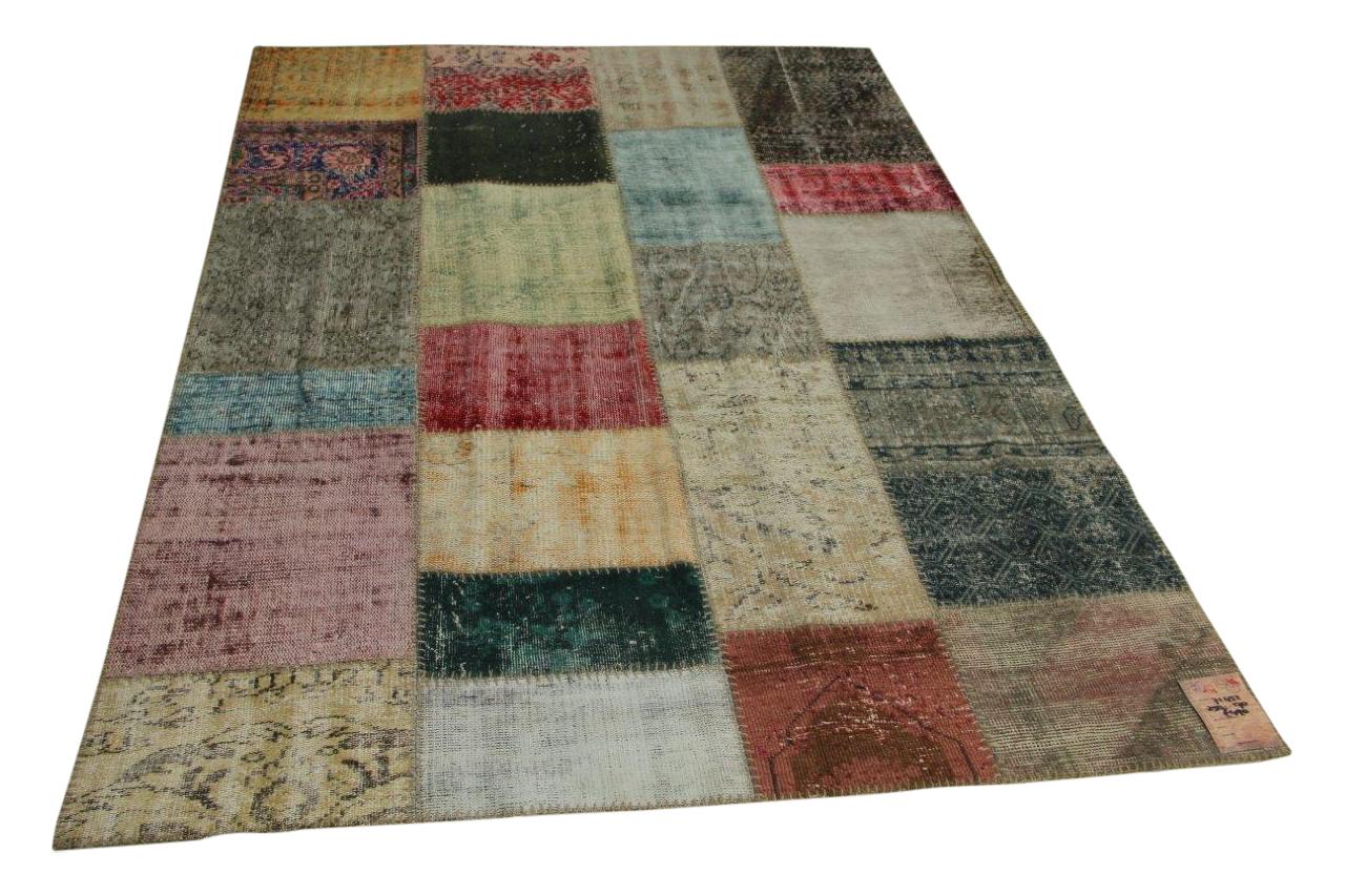 patchwork vloerkleed 250cm x 170cm