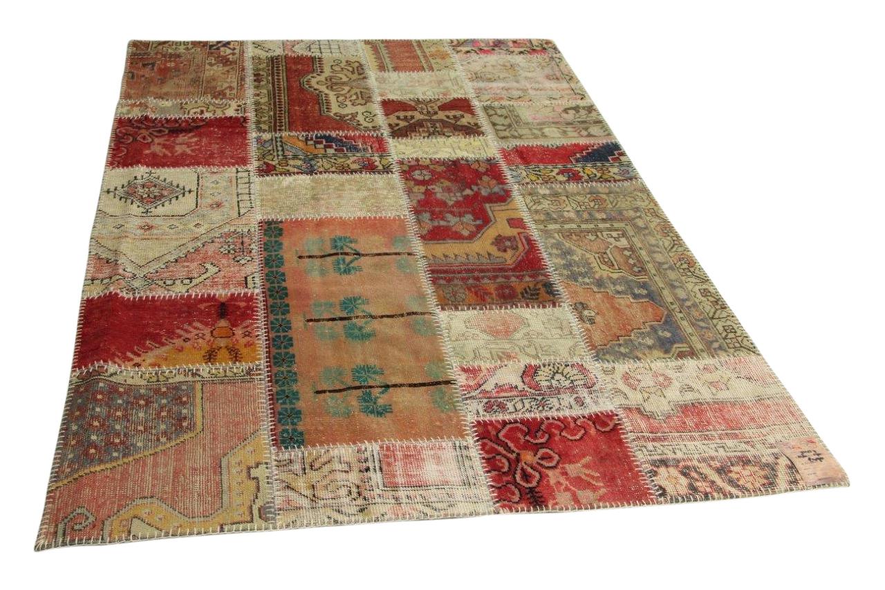 patchwork vloerkleed 246cm x 170cm