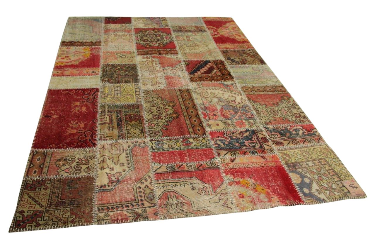patchwork vloerkleed 308cm x 212cm