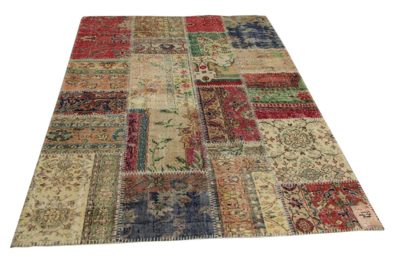 patchwork vloerkleed 244cm x 170cm