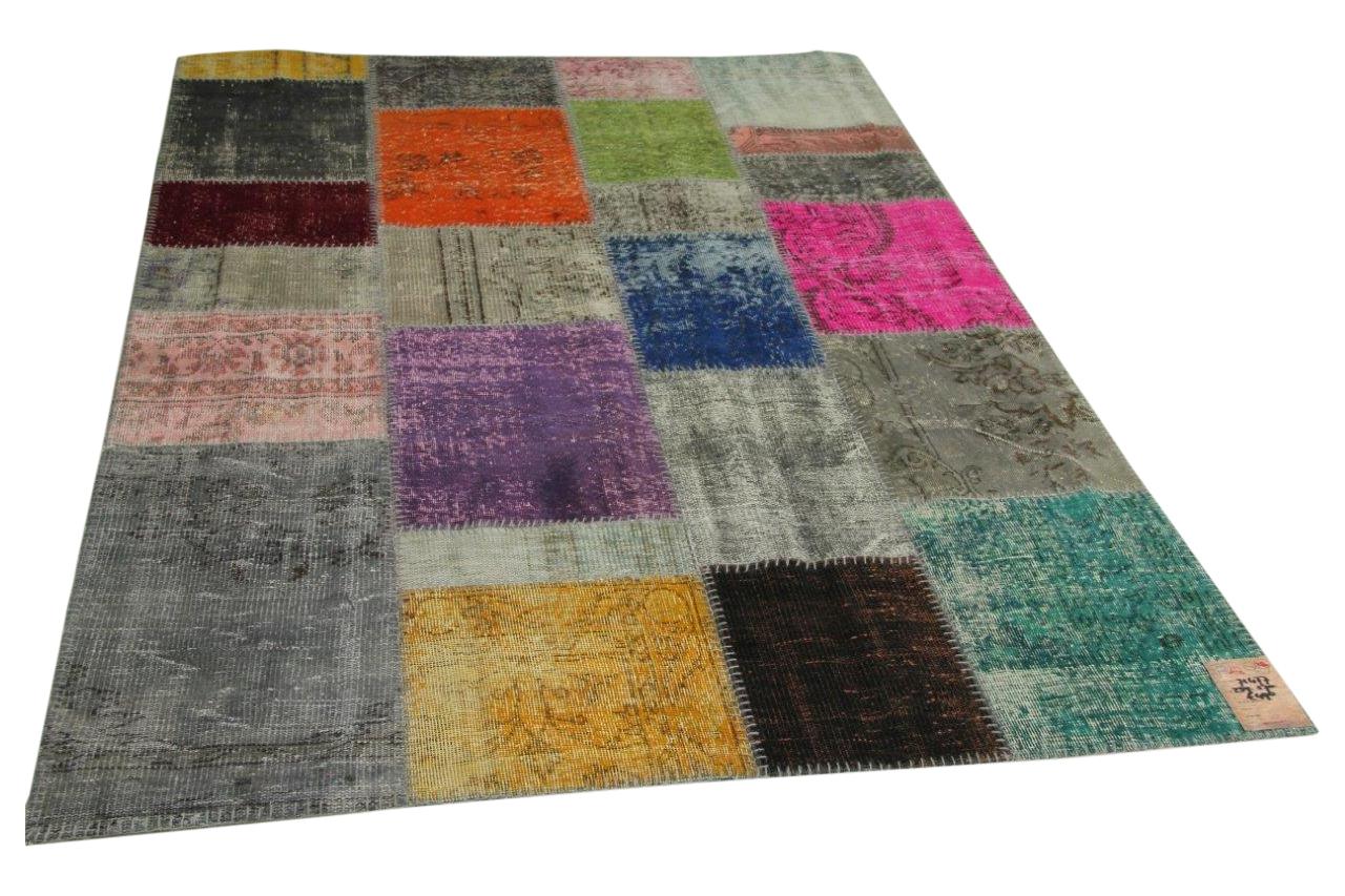 patchwork vloerkleed 239cm x 170cm