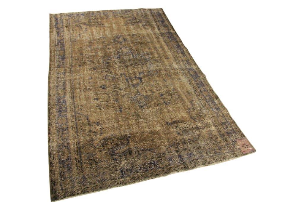 Vintage vloerkleed, 246cm x 147cm