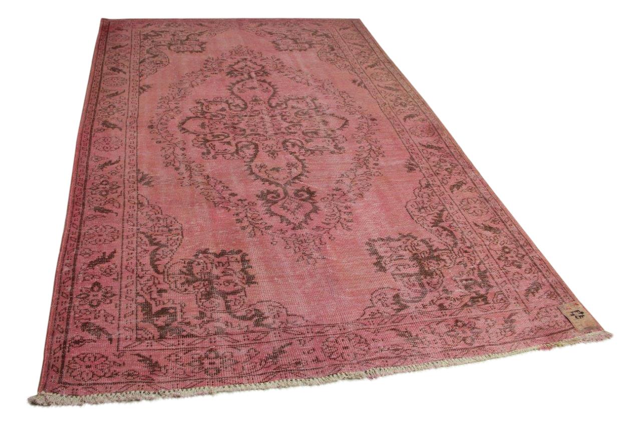 roze vloerkleed 311cm x 198cm